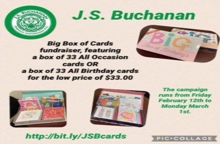 Big Box Of Cards Fundraiser